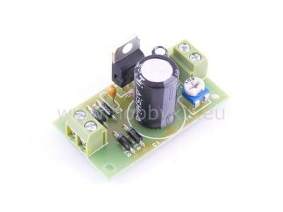 Регулируем стабилизатор от 1,2 до 30V/1A - сглобен 1505