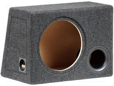 """Туба 12"""" OB.MDF.BR04 Кутия на говорителя; MDF; 50л; 300mm; тъкан; черен меланж"""
