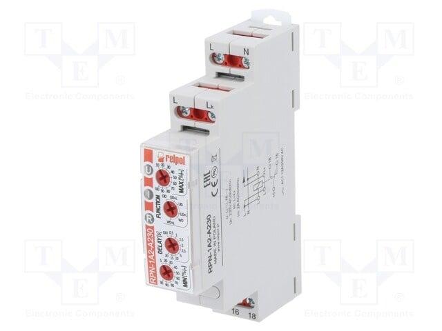 Токово реле RELPOL RPN-1A2-A230 Модул: реле за контрол на тока ток АС Uзах 230VAC DIN SPDT