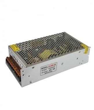 Импулсно захранване ЗА LED ОСВЕТЛЕНИЕ 24V 240W S-240-24