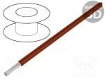 Кабел HEAT180SIF-0.5BR Кабел OLFLEX® HEAT 180 SiF многожичен Cu 0,5mm2 силикон 100m