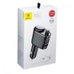 Трансмитер  автомобилен BASEUS Bluetooth MP3 Автомобилно зарядно устройство Черен CCALL-RH01-S05