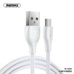 Кабел USB-USB micro REMAX кабел USB - Micro Lesu Pro 2,1A RC-160M бял или черен